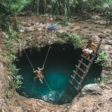 Couple Into Open Pool