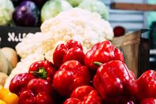 Closeup Of Various Vegetables