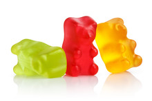 Colorful Jelly Gummy Bears, Is...