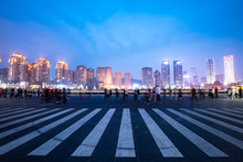Night View Of Dalian Xinghai S...
