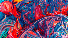 Beautiful Acrylic Color Abstract Background