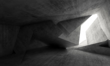 Abstract Interior Background 3d