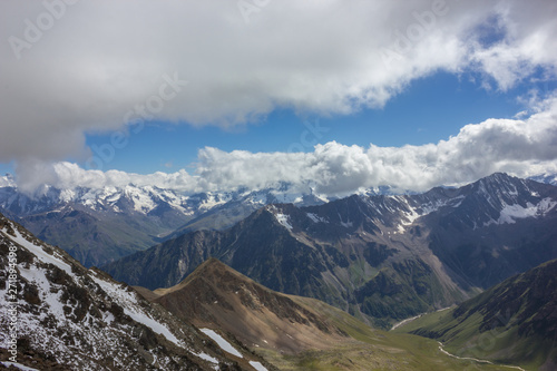 Poster Glaciers mountain landscape