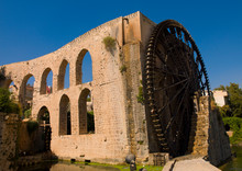 The Norias Of Bechriyyat, Hama...
