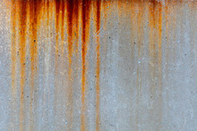 Rusty Metal Stain Texture On C...