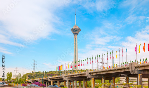 The Milad Tower in Tehran - Iran
