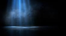 Dark Empty Scene, Blue Neon Se...