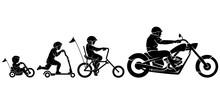 Chopper Rider Evolution Silhou...
