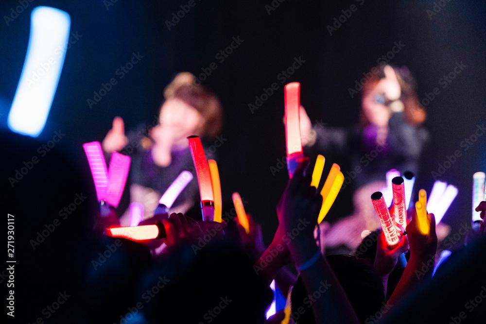 Fototapety, obrazy: アイドルのライブ会場
