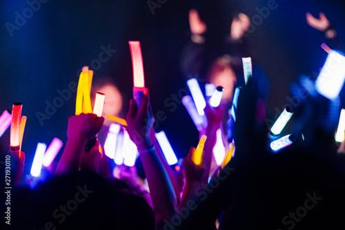 Photo アイドルのライブ会場