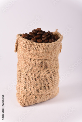 Photo Stands Coffee bar mini sack full of coffee beans