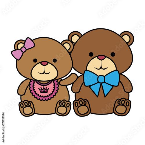 cutte little bears teddies couple #271957996