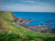 Amazing landscape at the Causeway Coast in Northern Ireland - travel photography