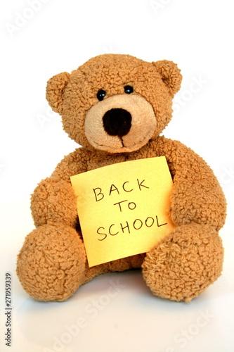back to school bear #271959339