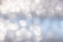Blur Abstract Background Silve...