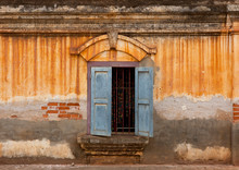 Window Of An Old French Colonial Building, Pakse, Laos