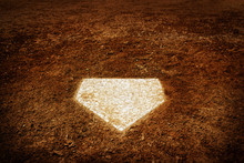 Home Plate Baseball Score In G...