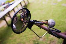 Round Mirror Bike