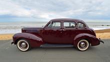 Classic Dark Red Studebaker  ...