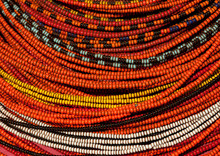 Rendille Tribe Woman With Beaded Decorations, Kenya