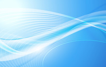 Abstract Blue Line Smooth Pattern Clean Concept Background