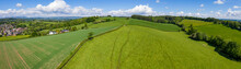 Aerial Panoramic View Of Typic...
