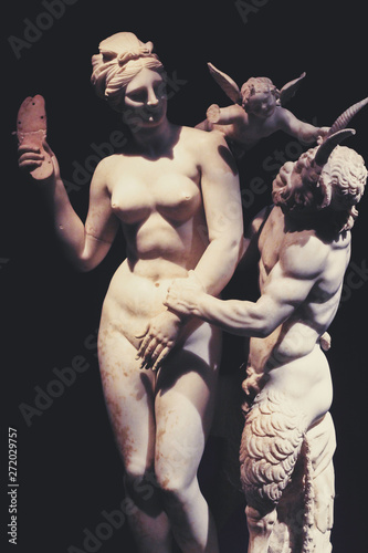 Pinturas sobre lienzo  statue athens antiquity
