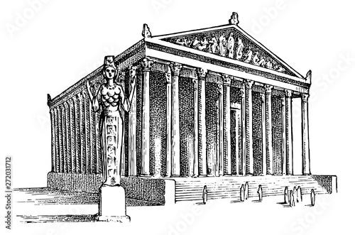 Seven Wonders of the Ancient World Fototapeta