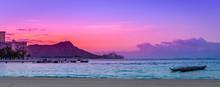 Tranquil Waikiki Sunrise Over ...