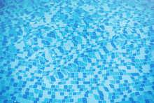 Water Pool Background Mosaic B...