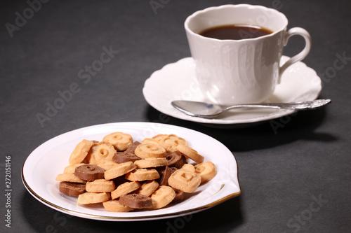 クッキーとコーヒー
