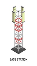 Base Station Antenna And Signal Transmission Isolated Object