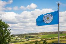 The White Rose Of York Flag Bl...