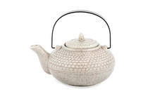Ceramic Teapot With Handle
