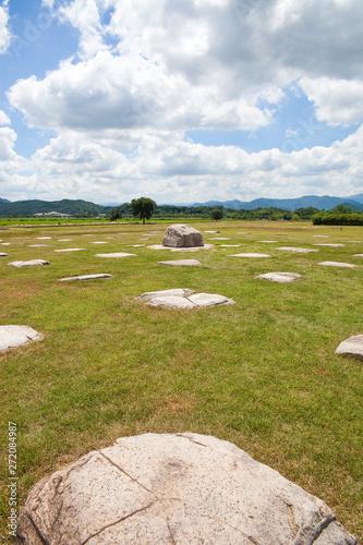 Photo sur Aluminium Kaki Hwangnyongsa Temple Site is a temple site of the Silla Dynasty.