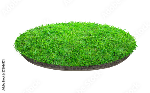 Fotografia  Abstract green grass texture for background