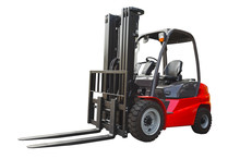 Powerful Electric Forklift Iso...