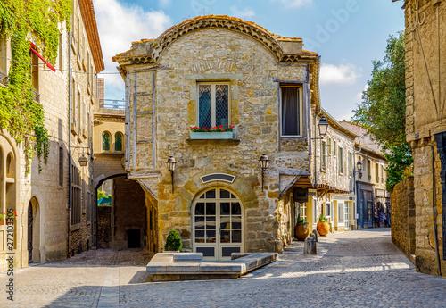 Foto  Carcassonne castle, France