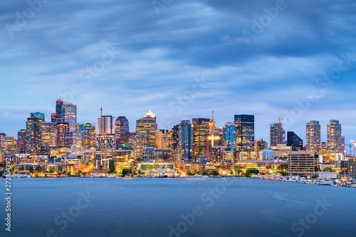 Photo  Seattle, Washington, USA skyline on Lake Union