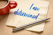I am determined positive affirmation