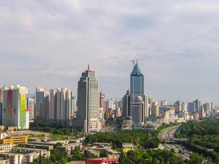 Urumqi panorama