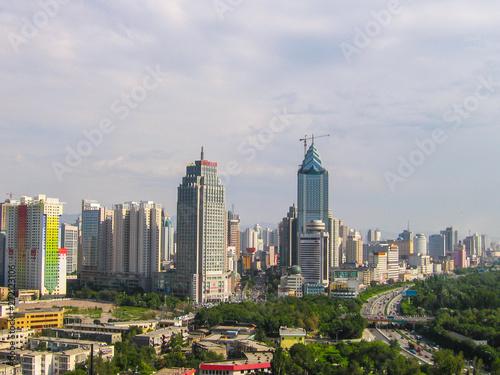 Fototapety, obrazy: Urumqi panorama