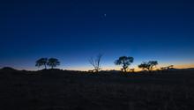 Dämmerung Am Rande Der Namib