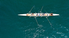 Aerial Drone Bird's Eye View O...
