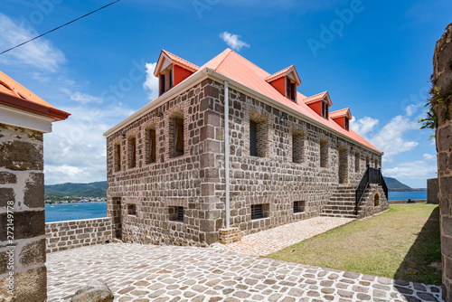 Foto Fort Shirley Views around the caribbean island of Dominica West indies