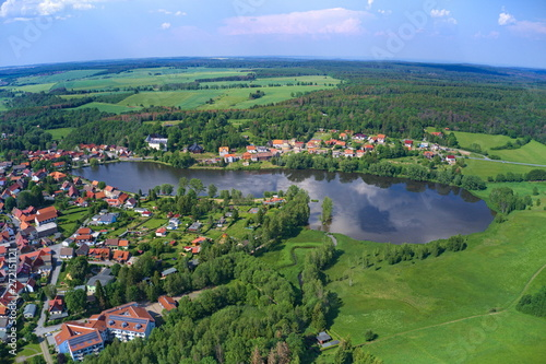 Fototapeta Harz. Vogelperspektive.  obraz na płótnie