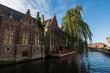canvas print picture - Brujas (Bélgica) Flandes
