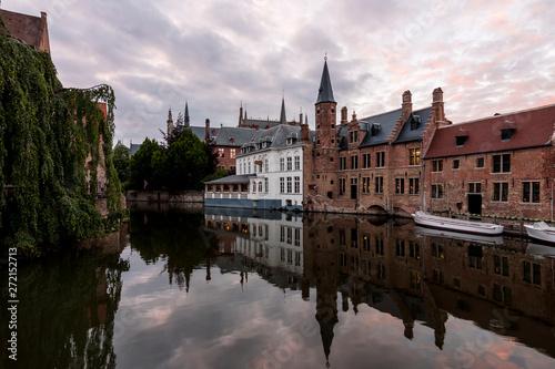 In de dag Brugge Brujas (Bélgica) Flandes