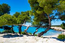 Crystal Clear Blue Mediterrane...