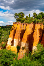Large Colorful Ochre Deposits,...